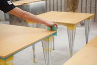 木材塗装「仕上げ」の表現法