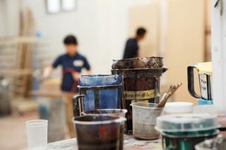 カシュー塗料の乾燥の仕組