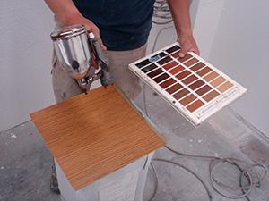 木材透明着色仕上げ(3)木肌と塗装の関係