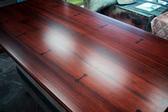 マホガニー無垢材製テーブル天板