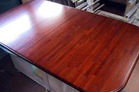 チーク集成材テーブル天板