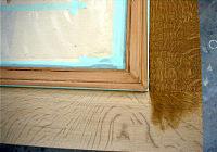 木部に着色剤を塗り込んでいきます。