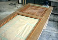 これは塗膜面の凹凸をフラットにする作業です。