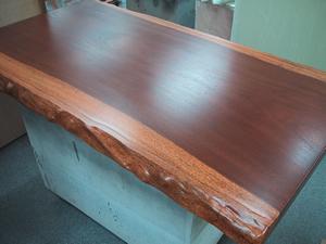 無垢材製テーブル天板